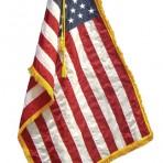 Delux U.S. Indoor Flag Set
