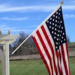 6′ spinning Flagpole