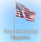 Titan Telescoping Flagpoles